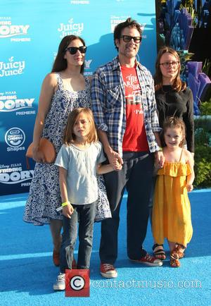 Johnny Knoxville, Naomi Nelson, Madison Clapp, Arlo Clapp , Rocko Akira Clapp - World premiere of Disney-Pixar's 'Finding Dory' at...