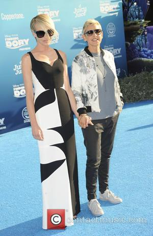Ellen Degeneres , Portia de Rossi - World premiere of Disney-Pixar's 'Finding Dory' at the El Capitan Theatre - Arrivals...