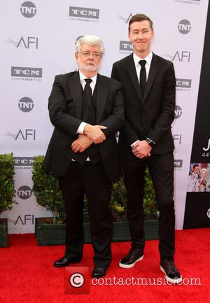 George Lucas and Jett Lucas