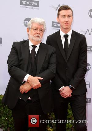 George Lucas and Son Jett Lucas