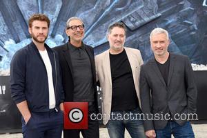 Liam Hemsworth, Jeff Goldblum, Harald Kloser and Roland Emmerich