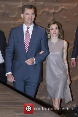 Queen Letizia Of Spain. King Felipe Vi Of Spain