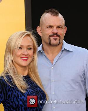 Heidi Northcott and Chuck Liddell at Westwood Village Theatre