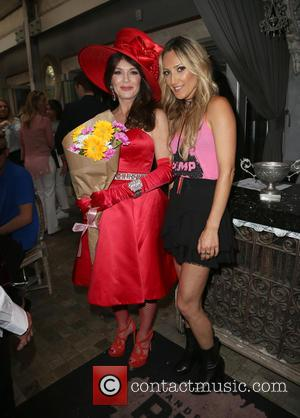 Lisa Vanderpump and Ellie Newman