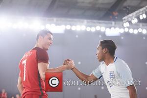 Cristiano Ronaldo and Gerson Correia Adua