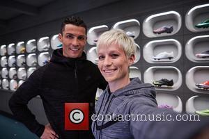 Cristiano Ronaldo and Megan Rapinoe