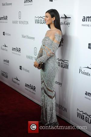 Victoria Justice - 7th Annual amfAR Inspiration Gala New York - Red Carpet Arrivals - New York, New York, United...