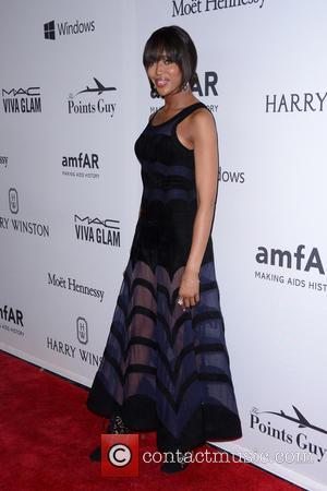Naomi Campbell - 7th Annual amfAR Inspiration Gala New York - Red Carpet Arrivals - New York, New York, United...