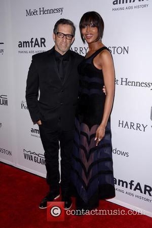 Kenneth Cole and Naomi Campbell