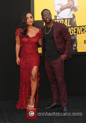 Danielle Nicolet and Kevin Hart