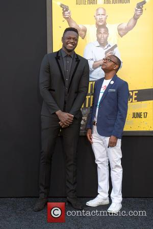 Julius Randle and Tommy Davidson