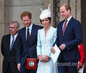 Prince Andrew, Prince Harry, Prince William, Duke Of Cambridge, Catherine Duchess Of Cambridge and Kate Middleton