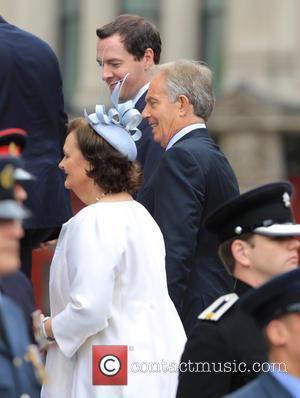George Osborne and Tony Blair