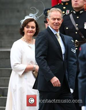 Cherie Blair and Tony Blair