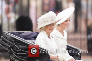 Camilla The Duchess Of Cornwall and The Duchess Of Cambridge