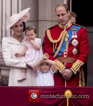 The Duchess Of Cambridge, The Duke Of Cambridge, Prince George and Princess Charlotte
