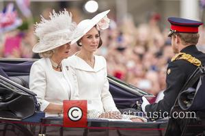 Camilla The Duchess Of Cornwall, The Duchess Of Cambridge and Prince Harry