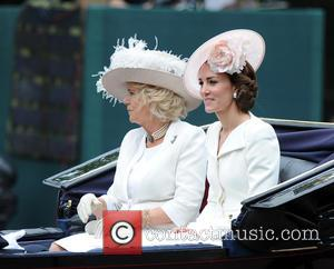 Duchess Of Cornwall and Duchess Of Cambridge