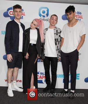 Clean Bandit, Grace Chatto, Neil Amin-smith, Jack Patterson and Luke Patterson
