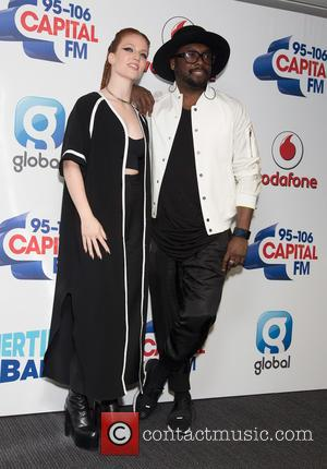 Jess Glynne and Will.i.am.