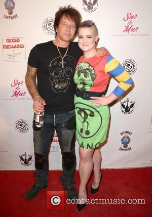 Billy Morrison and Kelly Osbourne