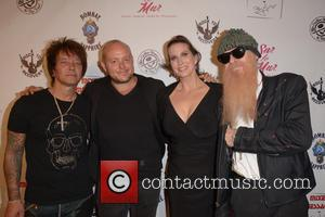 Billy Morrison, Lincoln Townley, Megan Phillips and Billy Gibbons