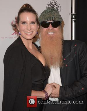 Megan Phillips and Billy Gibbons