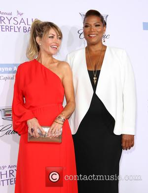 Rebecca Gayheart and Queen Latifah at Private Mandeville Canyon Estate and Chrysalis Butterfly Ball