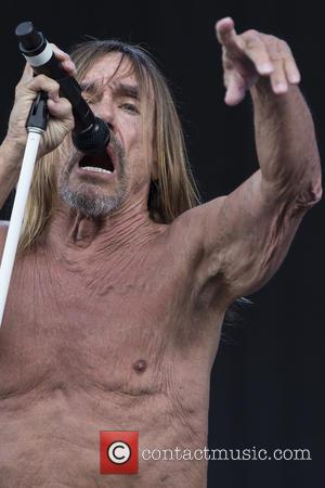 Iggy Pop and James Newell Osterberg