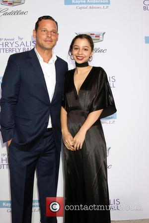 Justin Chambers and Daughter