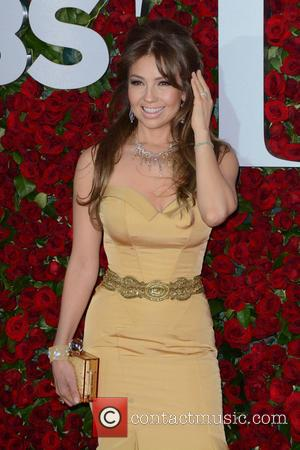Thalia - 2016 Tony Awards -  Red Carpet Arrivals at Tony Awards - New York, New York, United States...
