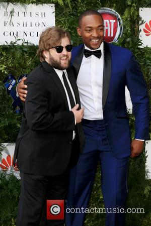 Anthony Mackie and Hayley Joel Osment