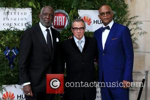 Richard Roundtree, Samuel L Jackson and Tico Torres