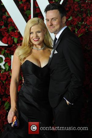 Megan Hilty - 2016 Tony Awards -  Red Carpet Arrivals at Tony Awards - New York, New York, United...