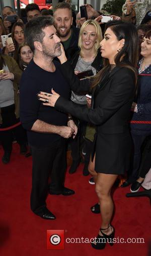 Simon Cowell , Nicole Scherzinger - 'X Factor' Manchester Auditons at Lancashire County Cricket Club at x factor - Manchester,...