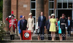 Prince William, Duke Of Cambridge, Catherine Duchess Of Cambridge, Kate Middleton and Theresa Villiers Mp