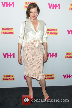 Actress Milla Jovovich - Premiere for VH1's 'Barely Famous' Season 2 - Arrivals at West Hollywood - Los Angeles, California,...