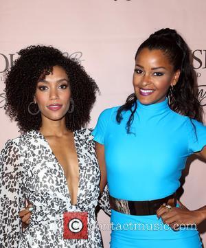 Annie Ilonzeh and Claudia Jordan