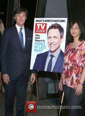 Paul Turcotte , Nerina Rammairone - TV Guide Magazine celebrates new cover star and 'Prince of Late Night' Seth Meyers...