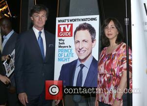 Seth Meyers, Paul Turcotte and Nerina Rammairone