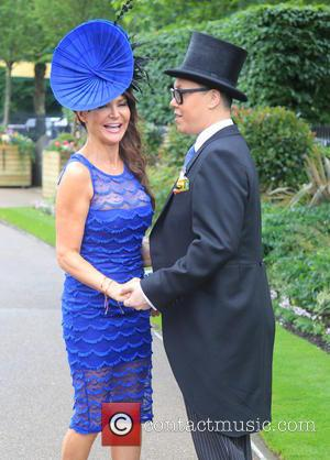 Gok Wan and Lizzie Cundy