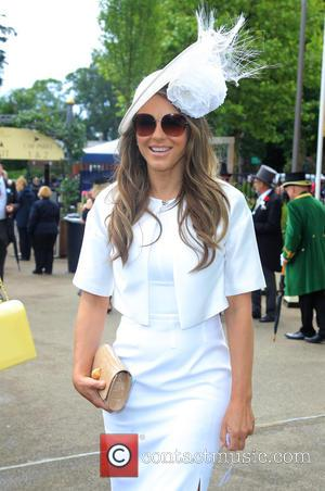Elizabeth Hurley , Liz Hurley - Royal Ascot held at Ascot Racecourse - Day 1 at Royal Ascot - Ascot,...