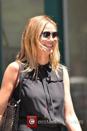 Heidi Klum - Heidi Klum goes out with her children on a sunny summer day in New York City -...