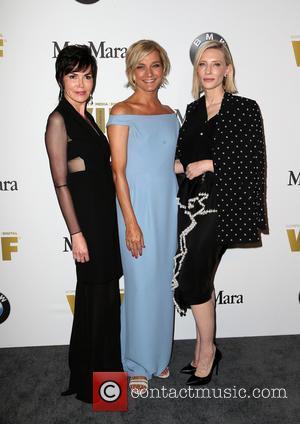 Hylda Queally, Nicola Maramotti and Cate Blanchett