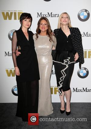 Hylda Queally, Cathy Schulman and Cate Blanchett