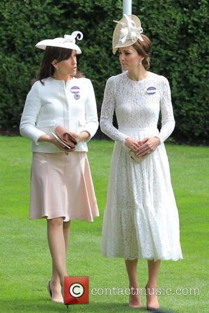 Catherine and Duchess Of Cambridge