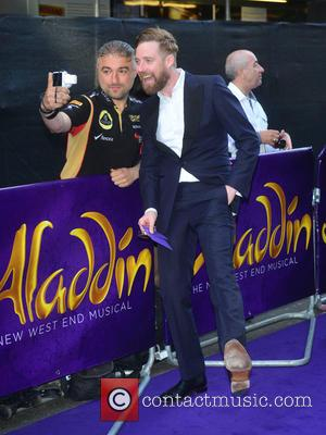 Ricky Wilson - Aladdin theatre production press night - Arrivals - London, United Kingdom - Wednesday 15th June 2016