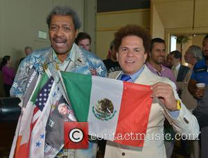 Don King and Romero Britto