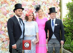 Anthony Mcpartlin, Lisa Armstrong, Declan Donnelly and Ali Astall