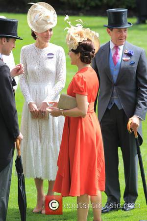 Catherine, Duchess Of Cambridge, Prince William, Duke Of Cambridge and Princess Mary Of Denmark